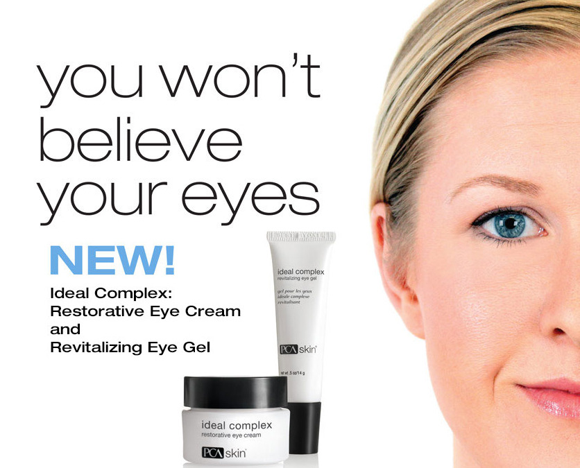 Product of the Month: PCA's Ideal Complex Restorative Eye Cream and Gel